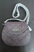 Marc Jacobs quilted Nylon Large Messenger m0011324-001 Grey