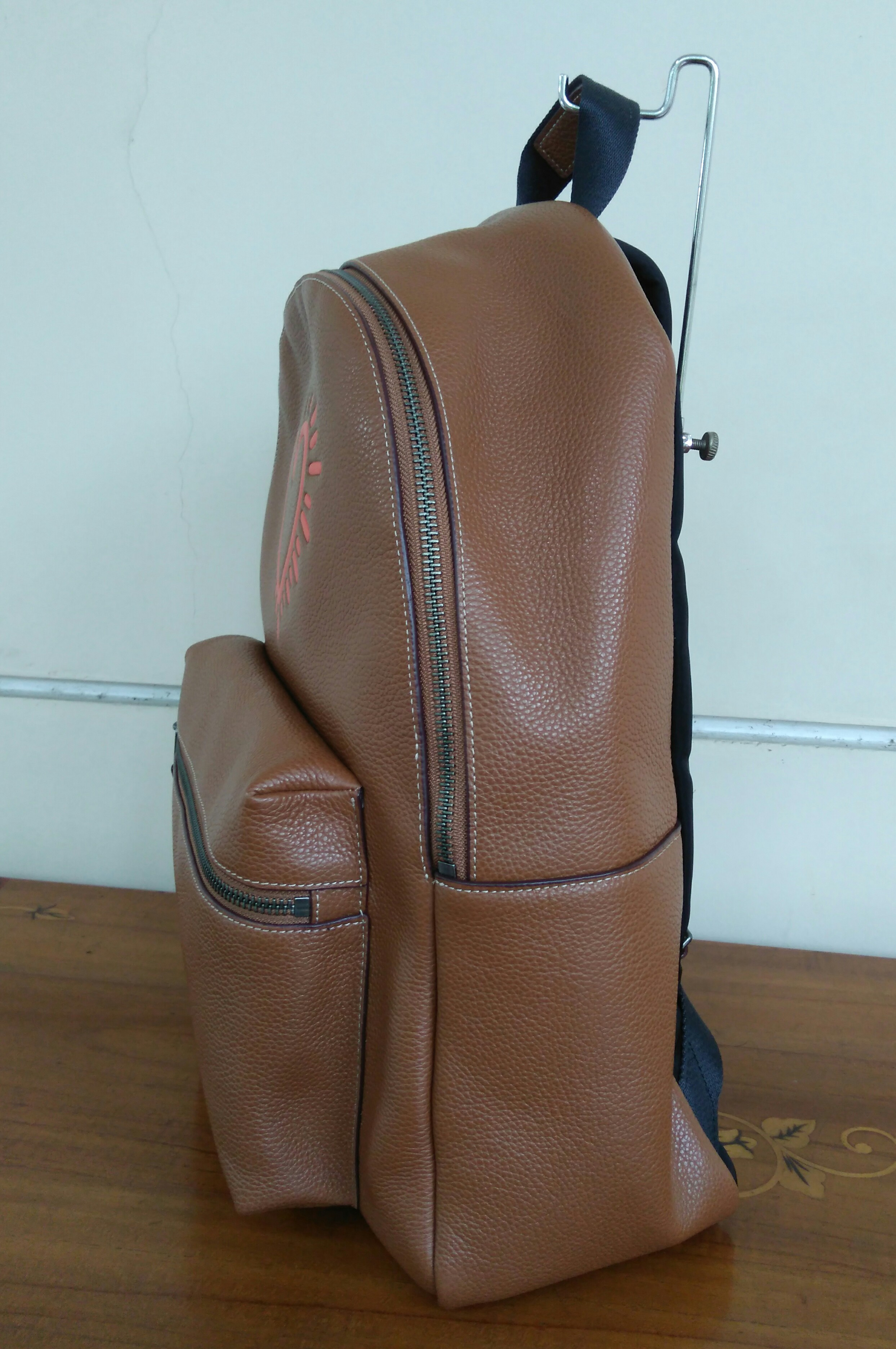 9403047e0f ... top quality coach charlie pebble small leather backpack 29bc0 29839