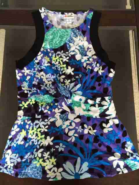 Peter Pilotto for Target Floral Tank Blue