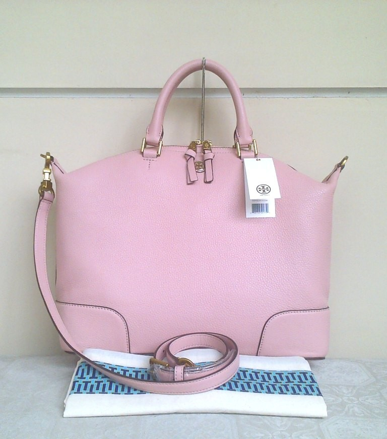 38566ea9ccb Prebu.com    Handbags    Tory Burch Frances Slouchy Satchel Rose Sachet