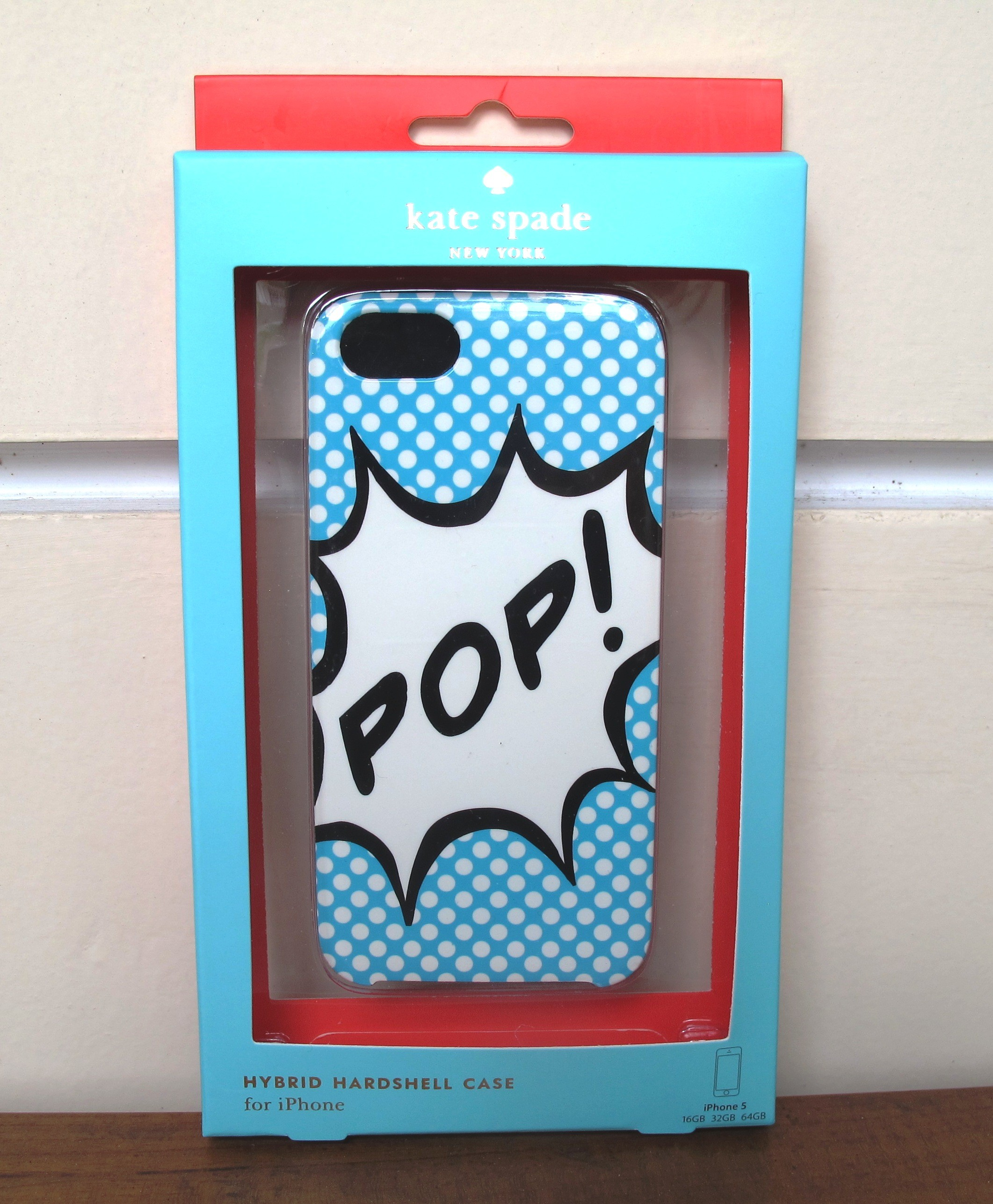 Kate Spade Iphone 5 case POP