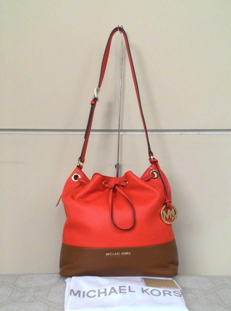 e544a5dc15a4 Prebu.com    Handbags    Michael Kors Large Drawstring Shoulder ...