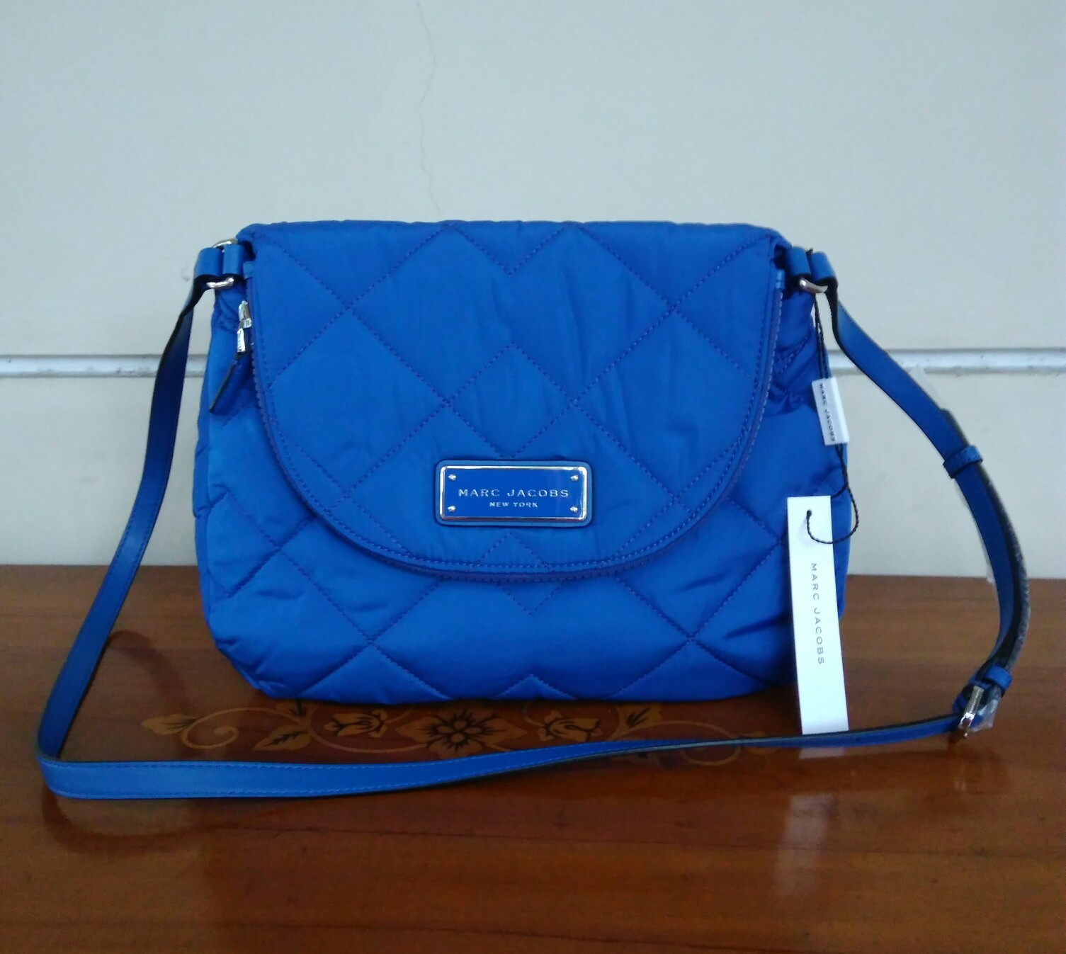 81601647eb304 Prebu Handbags Marc Jacobs Quilted Nylon Mini Crossbody. Marc Jacobs  Quilted Backpack