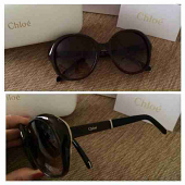 Chloe Round CatEye DarkBrown (No.8)