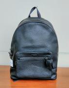 Coach West Backpack Pebbled Black