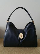 Coach Smith Carlyle shoulder Midnight