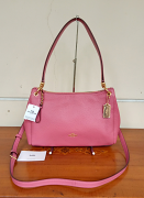 Coach Small Mia Shoulder Rouge