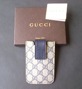 Gucci Case Phone GG Blue