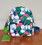 Kate Spade Dawn Breezy Floral Medium Backpack Blaze Blue Multi
