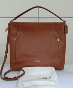 Coach Hobo Leather Large Scout Saddle