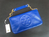 Tory Burch Bombe Reva Clutch Blue