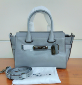 Coach Swagger 27 Pebble Grey