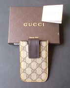 Gucci Case Phone GG Brown