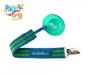 BooginHead PaciGrip (Blue/Green Stripe)