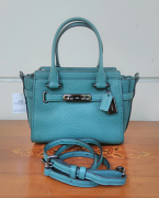 Coach Swagger 21 Pebble Dark Turquoise