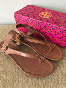 Tory Burch Minnie Travel Sandal Royal Tan