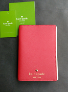 Kate Spade Passport Holder Mikas Pond PillboxRed