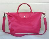 Longchamp Le Pliage medium Neo Pink