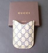 Gucci Sleeve Phone GG Blue