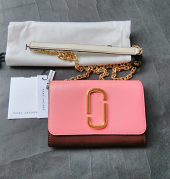 Marc Jacobs Chain Wallet Coral Multi
