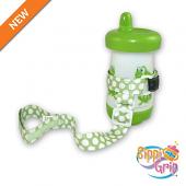 BooginHead SippiGrip (Delicate Dot Green)