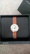 Marc By Marc Jacobs Amy Dinky leather strap gold tan