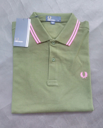 Fred Perry Polo Twin Tipped Rifle Green