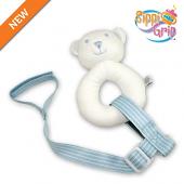 BooginHead SippiGrip (Blue Pinstripe)