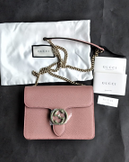 Gucci WOC Sling Bag Pink