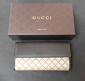 Gucci Wallet Continental Brown
