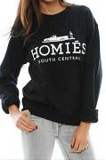 BL Tee Homies Sweatshirt Black