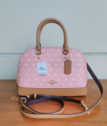 Coach Mini Sierra Butterfly Blush Chalk