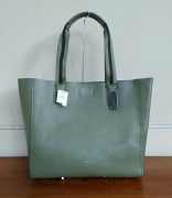 Coach LG Derby Tote Floor int mirty green/blue multi