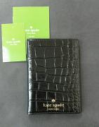 Kate Spade passport holder Riverside street Exotic Black