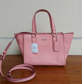 Coach Crosby Mini Crossgrain Carryall Pink