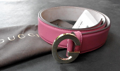 Gucci Belt Vintage Rose