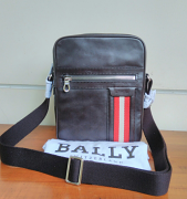 Bally Oakview Small Calf Plain Chocolate
