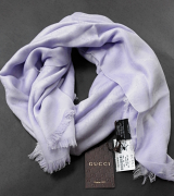 Gucci Shawl square flame Lilac