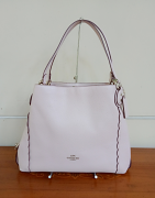 Coach Pebble Edie 31 Scallop Ice Pink