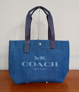 Coach Denim Canvas Tote