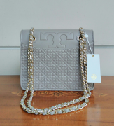 Tory Burch Byant Convertible Shoulder French Grey
